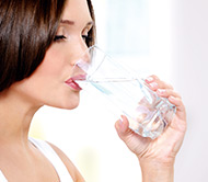 Measure of body water to regulate the water balance